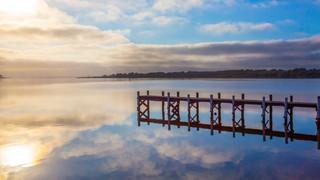 Goolwa Sunrise and reflection.jpg