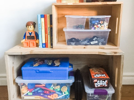 Storage Solutions:  Thinking Outside The Box