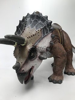 Triceratops with saddle