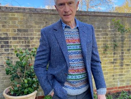 David's sweater...