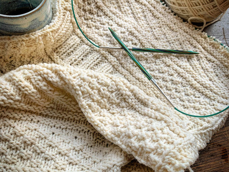 Knit on, with confidence and hope...