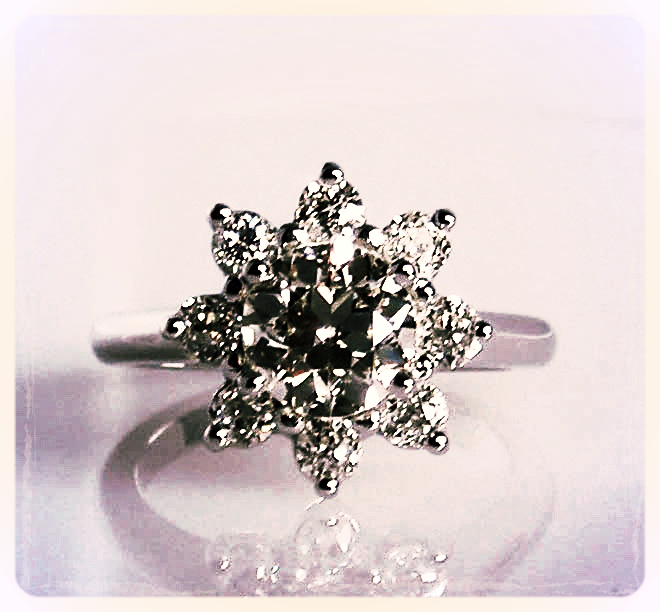 The 'Flower Petal/Starburst' Ring