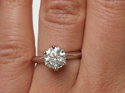 Classic 6-Pronged Solitaire Ring