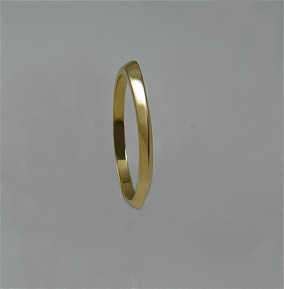 Concave/Twist Wedding Ring