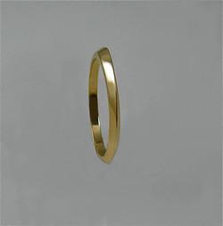 Concave/Twist Wedding Ring