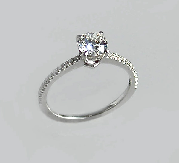 "The ""Delicate"" Engagement Ring"