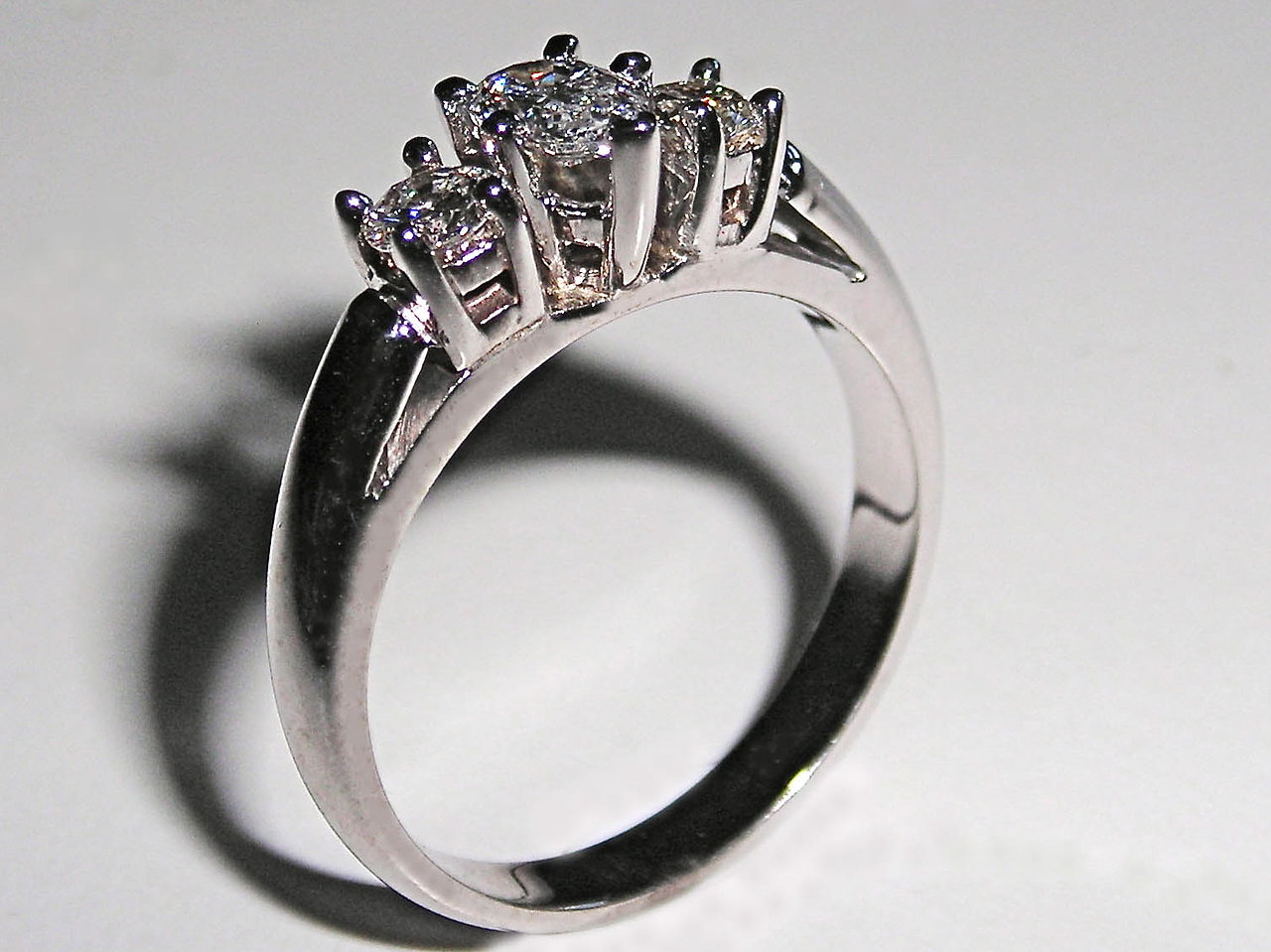 "A Classic ""3-Stone"" Engagement Ring"