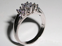 """A Classic """"3-Stone"""" Engagement Ring"""