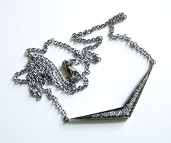Diamond Pendant Made with Old Stones