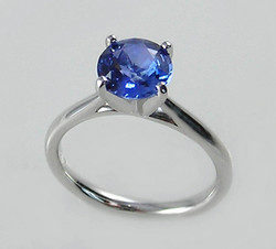 The Blue, Blue Sapphire Ring