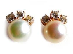 'Fanfare' Pearl Earrings