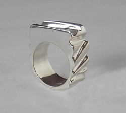 The Silver Slice Ring