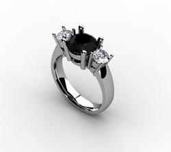 The Black Diamond Ring