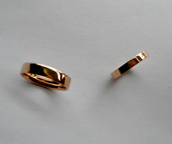 Wedding Bands Created from Old Ring