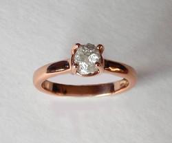 The Rough Diamond Etruscan Ring