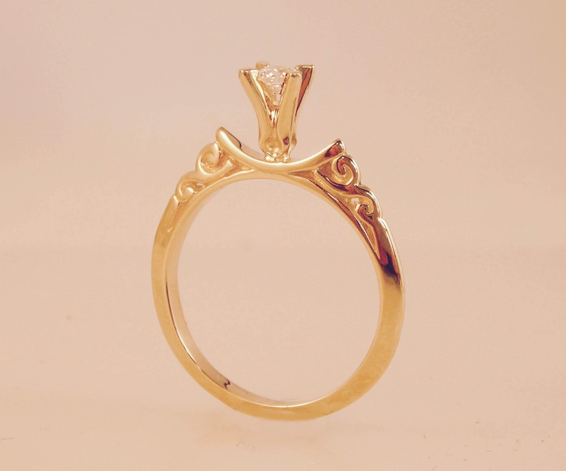 The Delicate Art Deco Ring