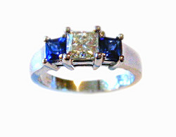 The Sapphire and Diamond Ring