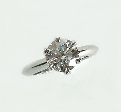 The 6-Pronged Solitaire Ring