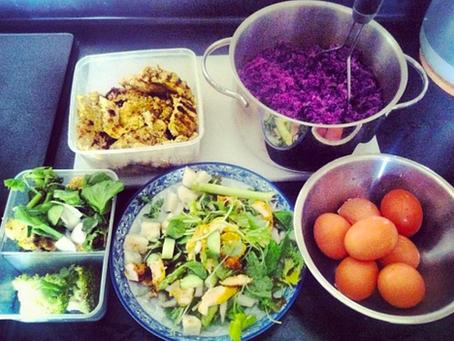 Food Prep once a week makes