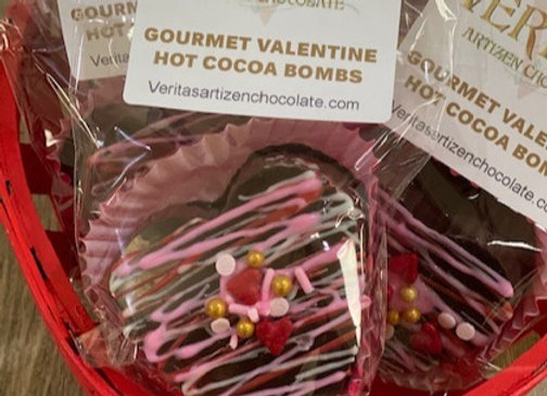 Fancy Hot Cocoa Bombs