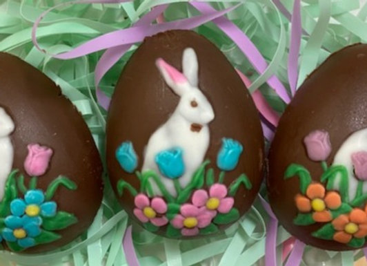 Chocolate Ganache Truffle Eggs