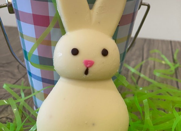 Solid White Chocolate Bunny