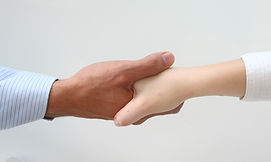 フレンドリー握手