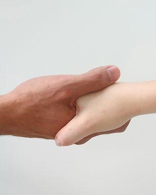 Freundlicher Händedruck