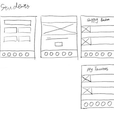 Student Page Prototype