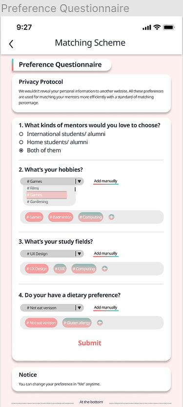 Matching Survey
