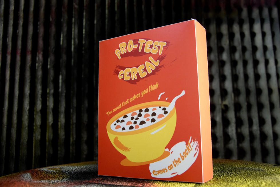 Pro-Test Cereal Packaging