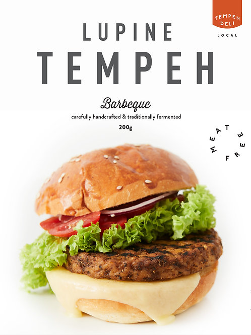 Lupine Tempeh - Barbeque 4x