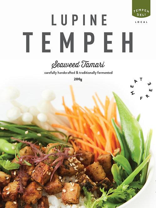 Lupine Tempeh - Seaweed Soy 4x