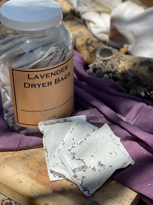 Lavender Dryer Bags