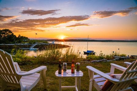 Dogfish Head Maine Sunset
