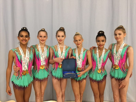 TEAM BATH RHYTHMIC GYMNASTICS ARE BRITISH & ENGLISH CHAMPIONS FOR 2018