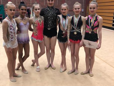 Bath Rhythmic Girls Win in Wales Championships