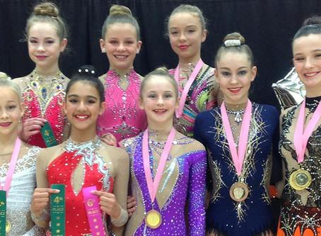 Bath Rhythmic Gymnastics Club Win 8 Medals & 5 Top Placings at the National Sandymoor Cup Comp