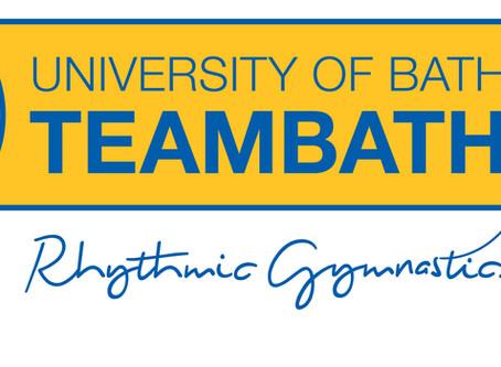 Team Bath Rhythmic support University Open Day