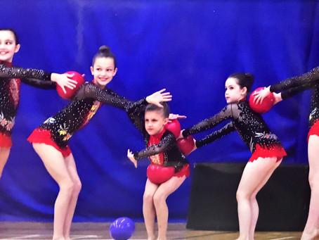 A British Championships Qualifying Performance from the City of Bath Rhythmic Gymnastics Club