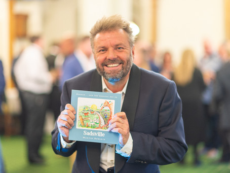 Celebrities come to The House of Commons for national launch of The Martin Roberts Foundation