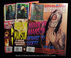 Hit Parader Marilyn Manson Holograms