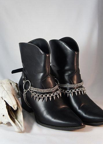 Black Rider Boot Straps