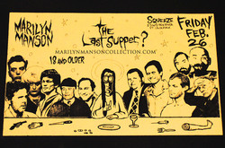 Last Supper Show Flyer