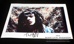 Twiggy Ramirez Signed Photo