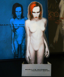 Mechanical Animals Mini Standee