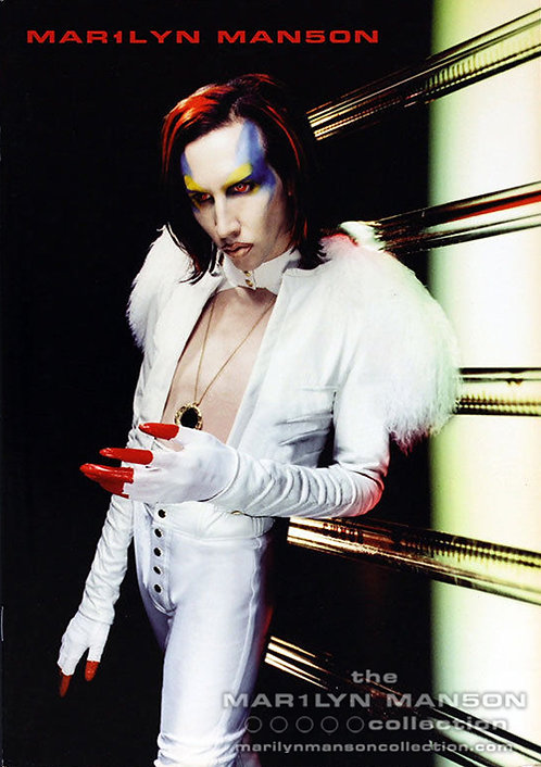 Mechanical Animals 1999 Japan Only Tour Book