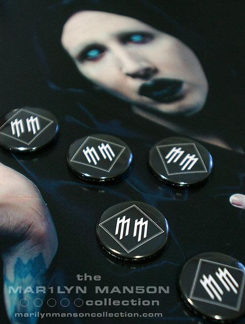 The Golden Age Of Grotesque MM Logo Pin