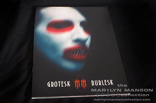 Grotesk Burlesk Tour Book
