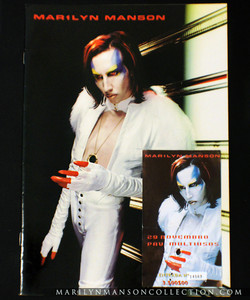 Mechanical Animals Japan Tour Book